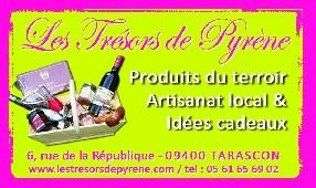 Les Trésors de Pyrène Tarascon sur Ariège